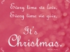 Christmas Quote -red