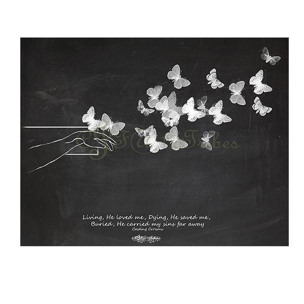 cross-and-butterflies